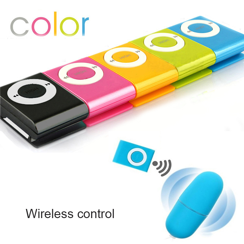 Wireless Vibrator Mini Butt Plug Remote Control Mp3 Sex Toys For Adults Female Vagina Dildo For Women Waterproof  Erotic Pussy