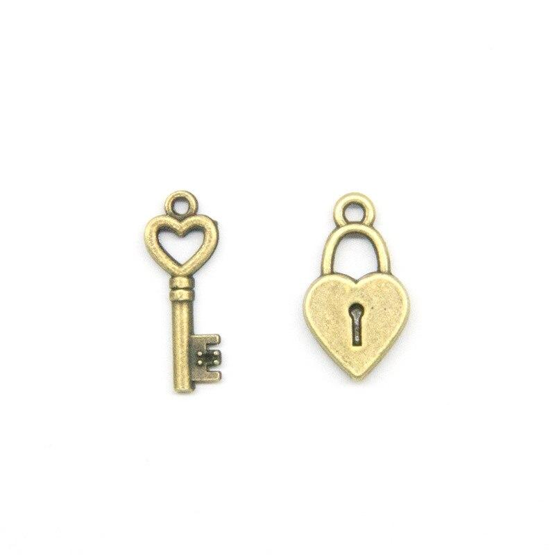 Couple Lock Charm Rope Bracelet 5