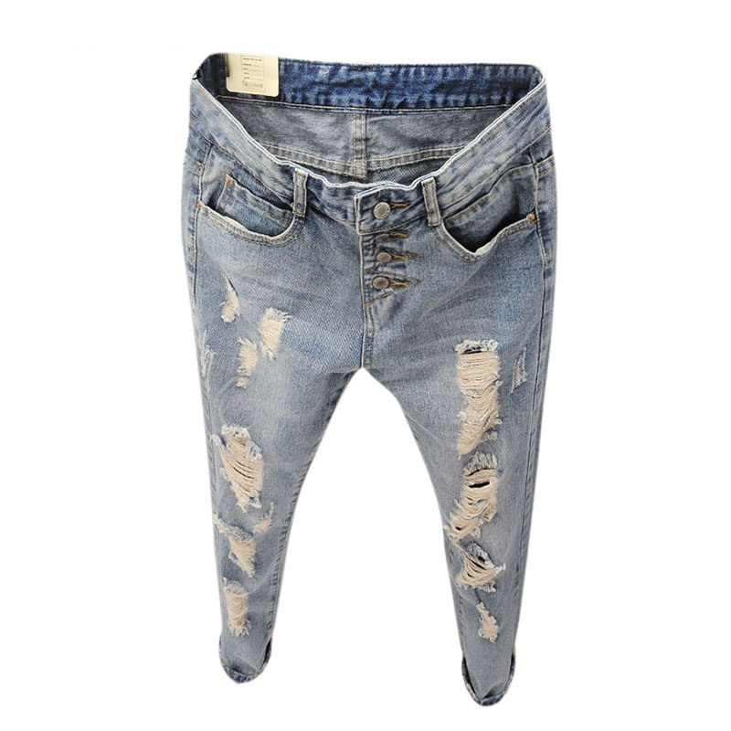Compare Prices on Ripped Boyfriend Jeans Vintage- Online Shopping ...