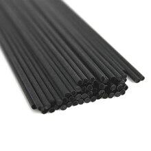 100 шт 22 см х 3 мм волокна черного ротанга палочки Замена Refill Reed диффузор палочки для украшения дома