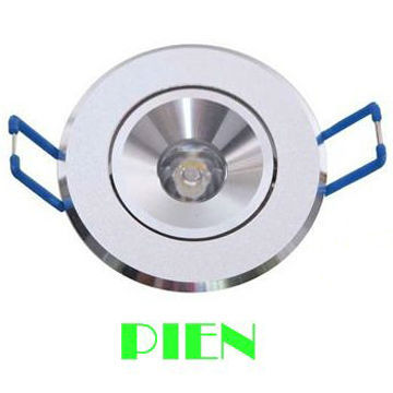 Dropshipping 3W 1* 3W LED Ceiling Light Recessed Downlight Spotlight Lamp 85~265V Free Shipping 5pcs/lot