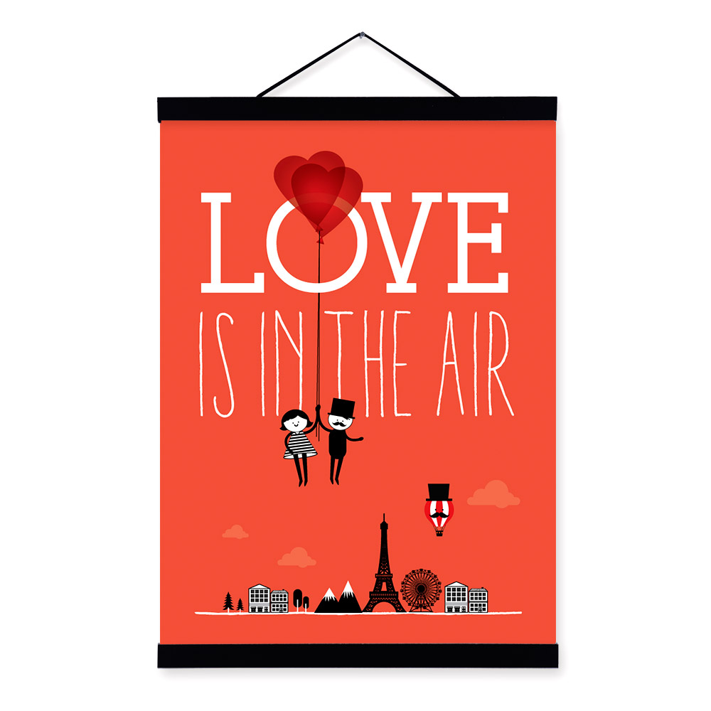 compare prices on paris poster art online shopping buy low price triptych r tic paris city eiffel tower love balloon a4 art print poster home wall picture canvas