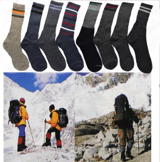 8PCS=4 pairs plus size thicken thermal loop pile meias termicas de neve snow socks men's  winter calcetines  invierno warm socks
