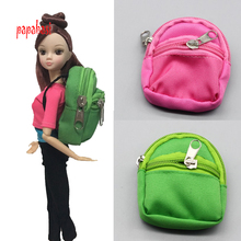 7color 1PCS Doll Knapsack Bag Accessories backpack For Barbie Doll For BJD 1 6 doll Best