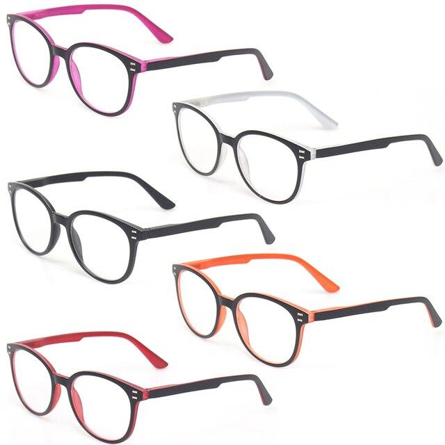 Henotin男性と女性のファッションカジュアル老眼鏡オーバルフレームバネ蝶番デザイン老眼鏡視度 0.5 1.75 3.0 4.0...