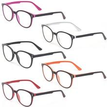 Henotin mężczyźni i kobiety moda casual okulary do czytania owalna ramka zawias sprężynowy design okulary do czytania dioptrii 0.5 1.75 3.0 4.0...