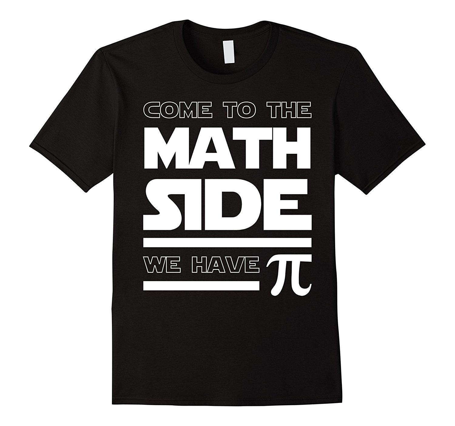 Gildan Come To The Math Side We Have Pi T-shirt Math Lover 2017 Hot Sale Summer funny cool Fashion Printed mens T-Shirt