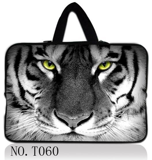 Tiger Design font b Laptop b font Sleeve Bag Hide Handle Computer font b Accessories b