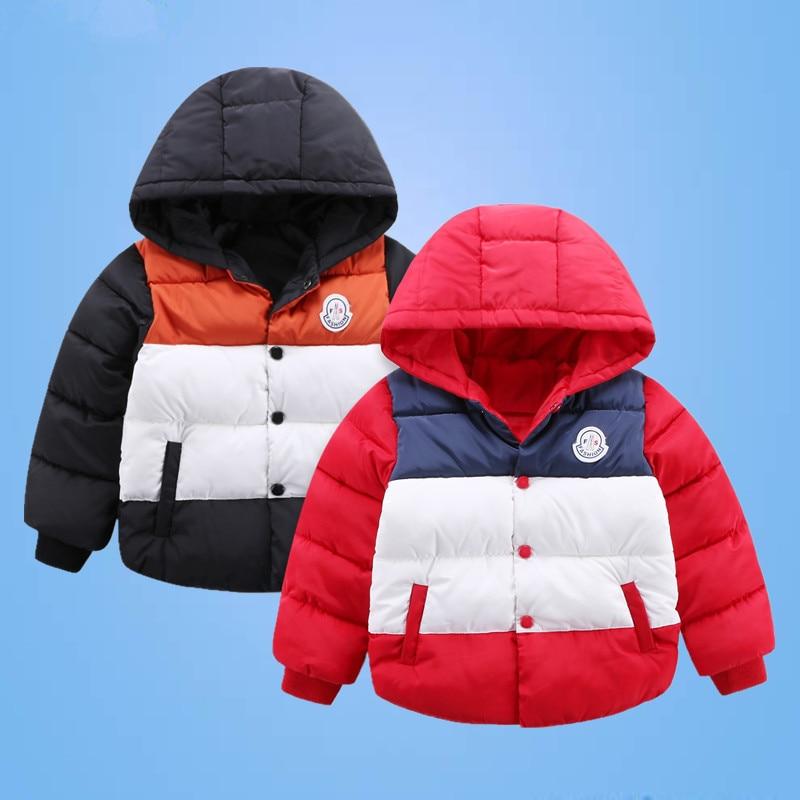 2016 yeni kış çocuk giyim büyü renk pamuklu erkek kalınlaşma kapşonlu fermuar ceket