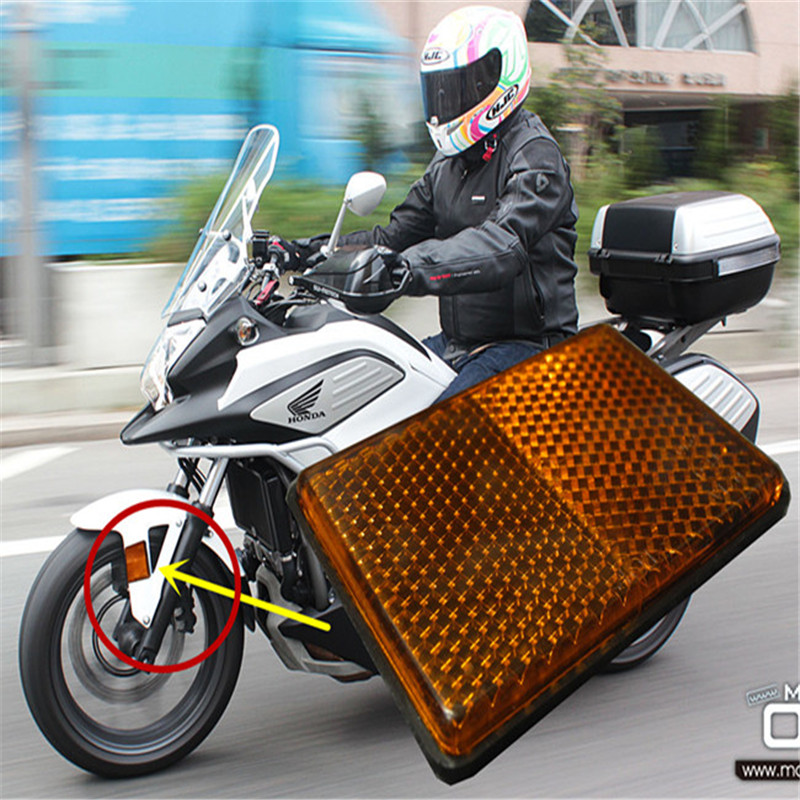 Motorcycle accessories front fender reflector for Honda ...