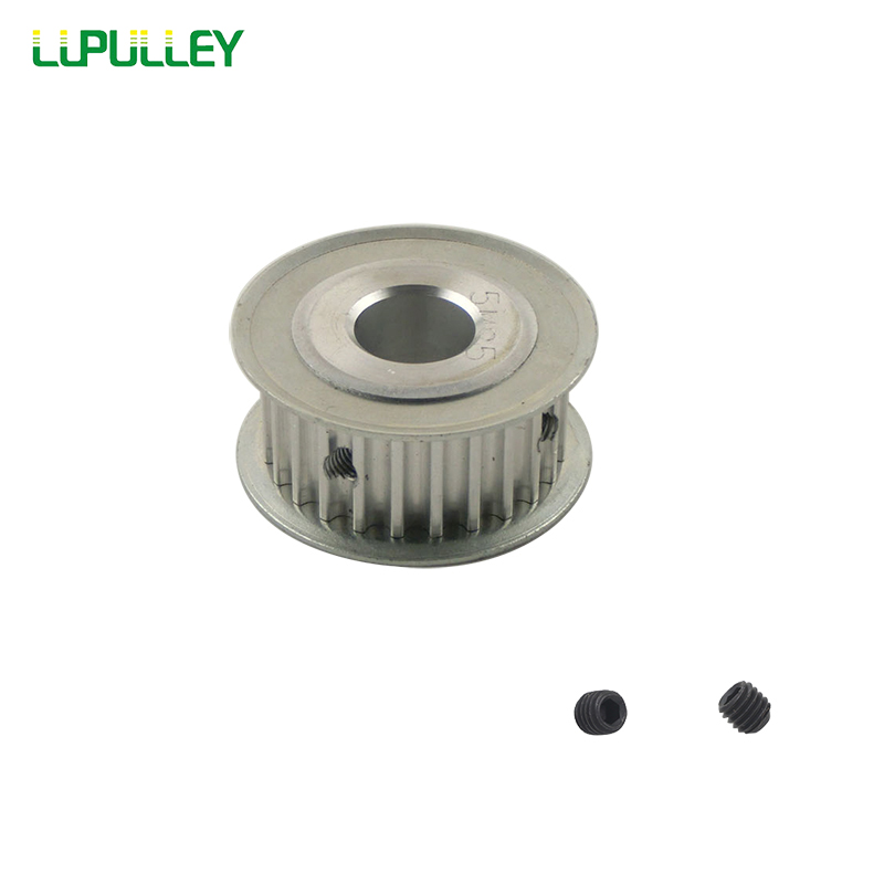 LUPULLEY 1PC 5M 25T HTD Timing Pulley 21mm Belt Width 5/6/6.35/8/10/12/12.7/14/15/16/17/20mm Bore 5mm Pitch Aluminum Alloy все цены