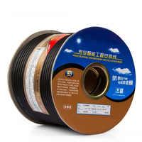 OFC cuivre 2-Core fil ligne pour bricolage Mic XLR interconnexion câble Audio Microphone ligne câble 2 M