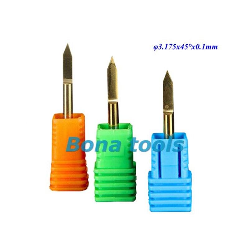 HSS droite tige 4 Flute End Mill Cutter Drill Bit 5 mm