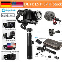 FeiyuTech G6 Plus 3 Axis Handheld Gimbal Stabilizer for Mirrorless Camera Pocket Camera GoPro Smartphone Payload 800g Feiyu G6P