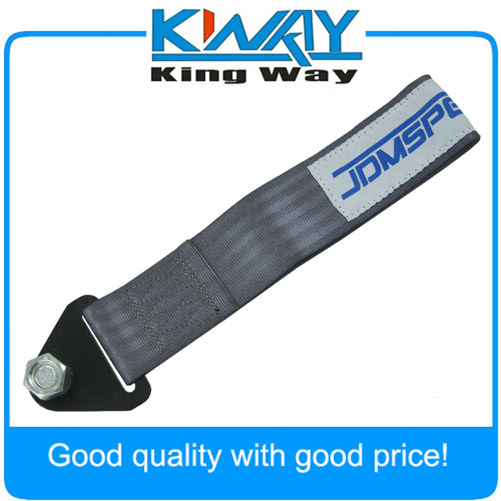 RED RACING UNIVERSAL TOW//TOWING STRAP RATED AT 10,000 LB FOR USDM//KDM
