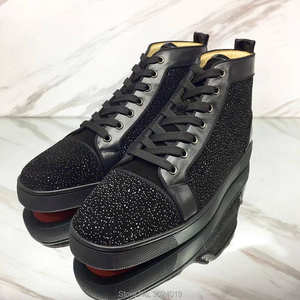 clandgz material Sneakers leather casual shoes 2018 Male ddc82c9fb68a
