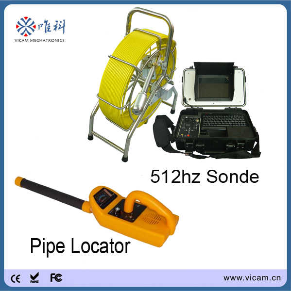 Sewer Camera For Sale >> 60M cable endoscope pipe inspection camera with 512Hz ...