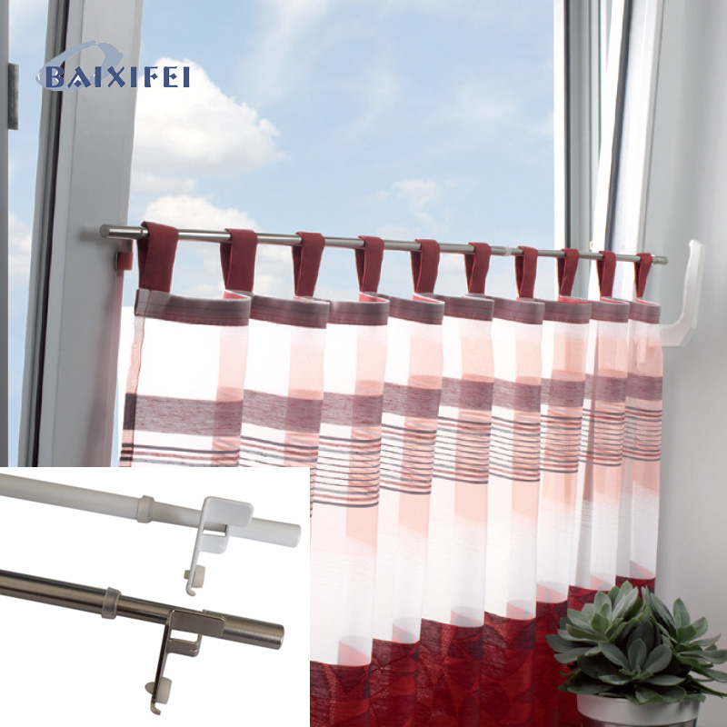 D8/10mm Tension cafe rod zylinder,Curtain Accessories Rod for Window Decoration