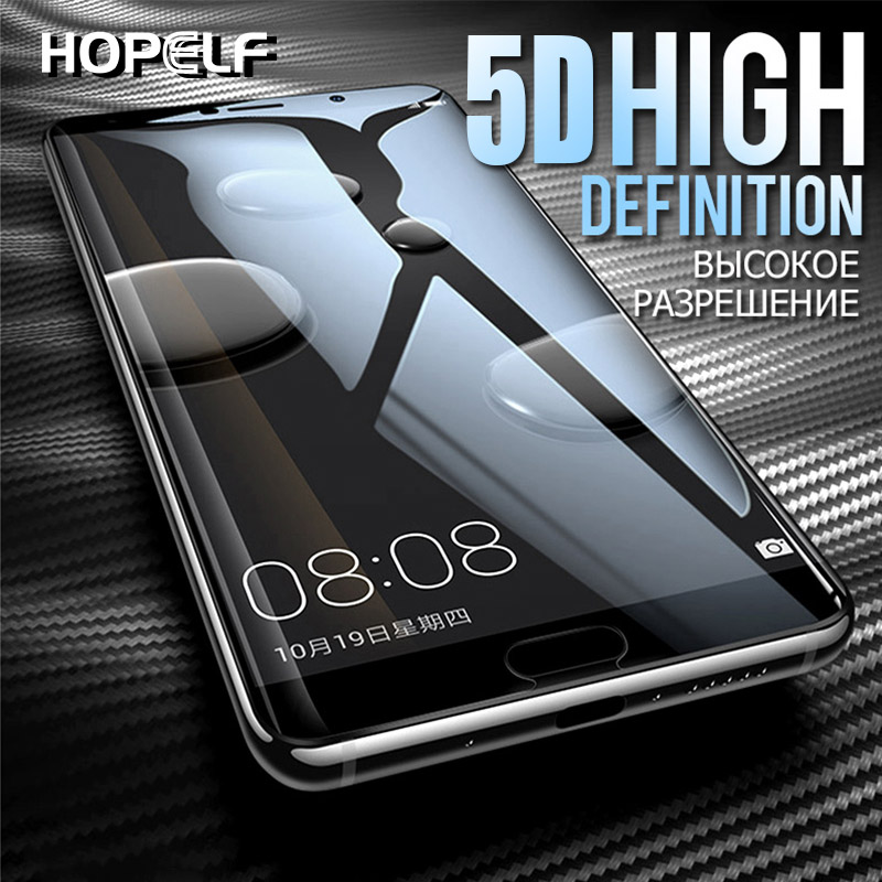Image 2 - 5D Glass For Huawei P20 Pro Screen Protector Protective Glass For Huawei Honor 10 P10 Mate 10 lite Nova 3 3i P Smart 2019-in Phone Screen Protectors from Cellphones & Telecommunications on