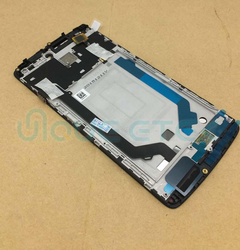 For Lenovo A7010 Vibe K4 Note LCD Touch Screen Digitizer Display Assembly With Frame For Lenovo A7010 Sensor Panel Replacement