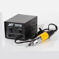 Destornillador eléctrico de alta potencia NT-0802 DC 800 + kit de destornillador eléctrico recargable de fuente de alimentación pequeña