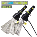 60W 9006 HB4 7200LM LED Bulb 6500K Cool White Car Headlight Fog Daytime Running Lamp LED Light Source Convention Kit