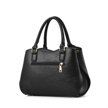 SUONAYI New Brand Women Business Handbag Fashion Shoulder Bag Casual Large Capacity Women Bag Designer PU Leather Tote Bag new women casual tote genuine leather handbag fashion ladies large capacity shopping bag brand designer female big shoulder bag