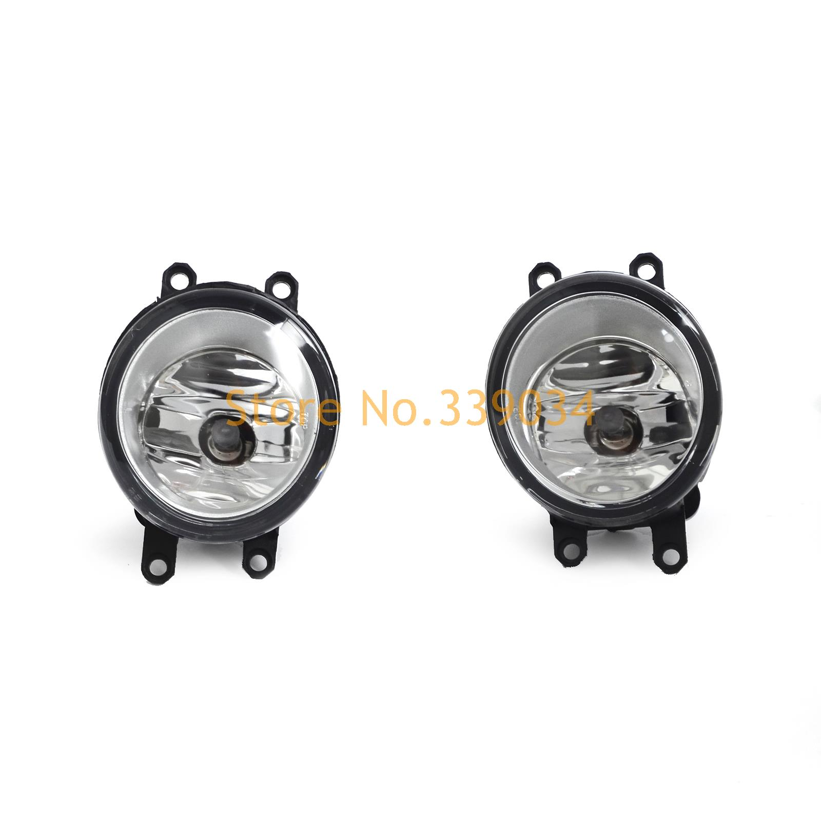 ФОТО Driver & Passenger Sides Fog Light Lamps with H11 Bulbs For Toyota Lexus Scion Highlander Matrix Venza Tundra Corolla