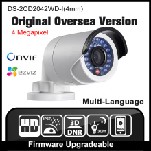 HIKVISION DS-2CD2042WD-I(4mm) Original English Version IP camera 4MP CCTV Camera POE Network camera P2P H265 Onvif IPC HD HIK