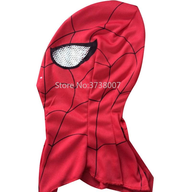 2pcs/lot Super Cool Spiderman Mask Adult and Kids Full Head Halloween Masks Hood Animal Costumes