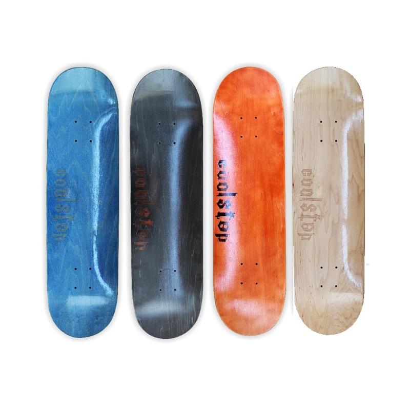 Free Shipping Canadian Maple Board Street Skateboard Deck 31*8inch Double Rocker Men And Women Cool Skateboard Cold Pressing