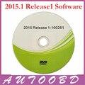 ¡ Nuevo!!! 2015.1 R1 Software de CD/Disco/DVD Accesorios Libres Activado para CDP TCS Escáner CDP Piezas Multi-función para Coches Camiones