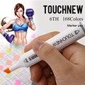 Touchnew 30/40/60/72/80/168 cor escola papelaria marcas alcoólica oleosa baseado tinta esboço marcadores caneta para a escola