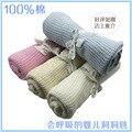 Crochet de Algodón súper Suave Manta de Bebé 75*100 cm Mantas de Verano mantas Recién Nacido Prop e cobertores Cuna Para Dormir Ocasional agujero Wrap