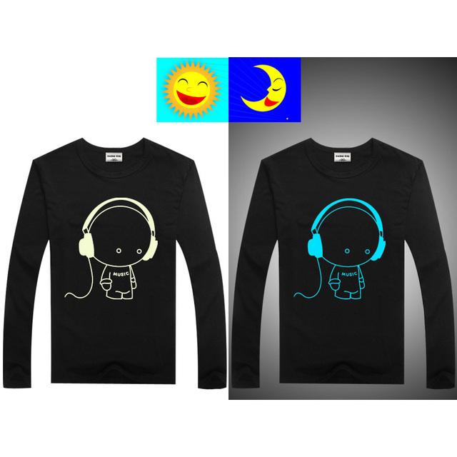 Luminous Long Sleeve T-Shirts