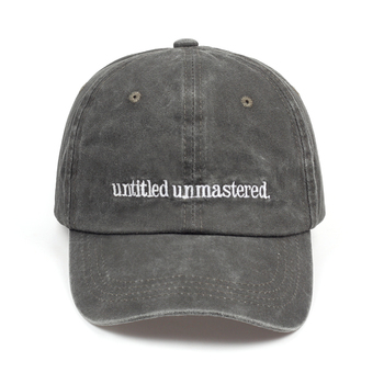 2018 new Kendrick Lamar Untitled Unmastered Embroidery hip hop Dad Hat Rap Brand Baseball Cap Women Men snapback cap hats