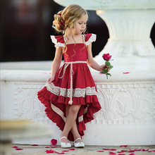 Toddler Baby Girls Ruffle Lace Tutu Dress Summer Dresses for Girls Pageant Party Princess Dress Kids Girl Clothes 1 2 3 4 5 Year baby girls dress wedding for girls dresses kids clothes toddler princess tutu dress girl birthday pageant dress