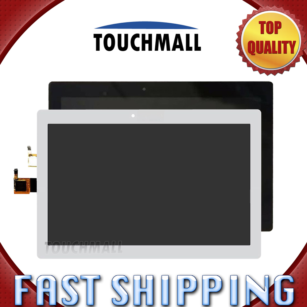 For New LCD Display Touch Screen Assembly Replacement Lenovo Tab 2 A10-30 YT3-X30 X30F TB2-X30F x30 Black White Free Shipping replacement original touch screen lcd display assembly framefor huawei ascend p7 freeshipping