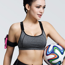 Women Yoga Bra Sports Bra for Running Gym Fitness Athletic Bras Padded Push Up Tank Tops For Girls ropa deportiva 40-75kg