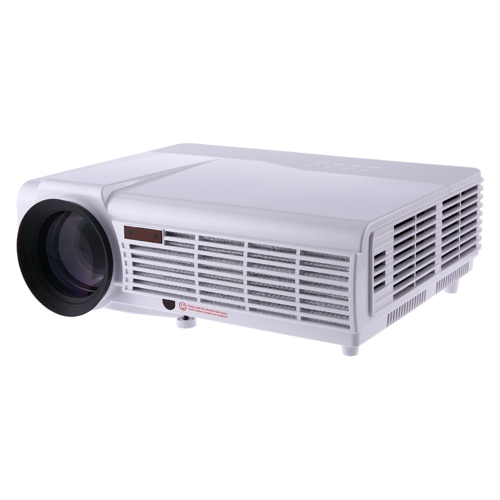 3000 lumens led 96 portable projector full hd 1080p 1280 for Lumen pocket projector