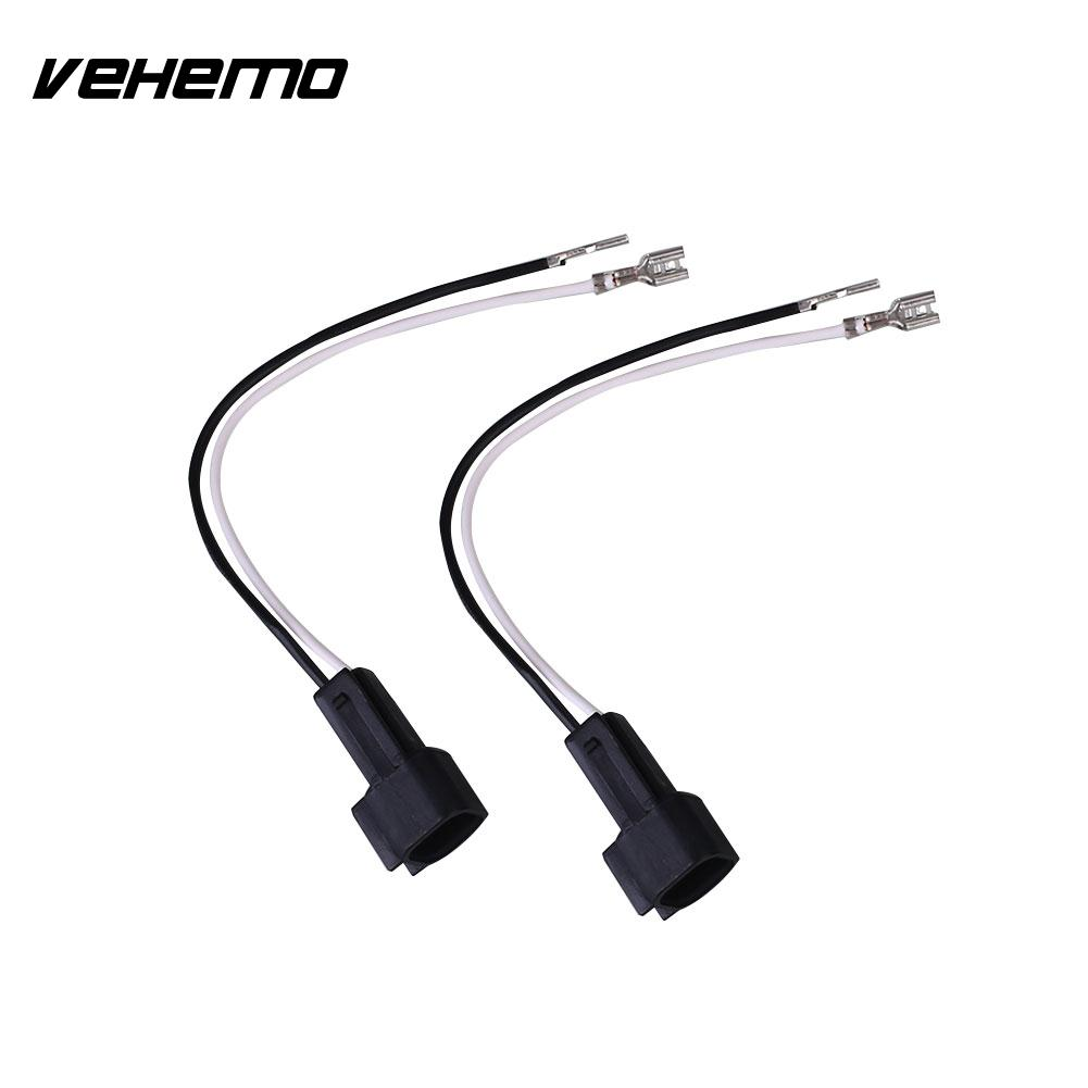 Vehemo 2Pcs Audio Speaker Wire Connectors Horn Car For Ford Isuzu Nissan  Mazda 72-5600