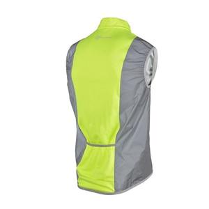 Image 2 - ROCKBROS Running Reflective Vest Outdoor Sport Safety Jerseys Cycing Bike Sleeveless Riding Bicycle Vest Men Women Light Vests