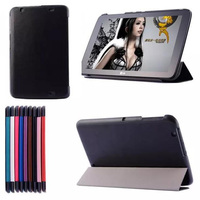 Ultra Slim Crazy Horse Magnetic Folio Stand Luxury Leather Case Protective Cover For LG G Pad