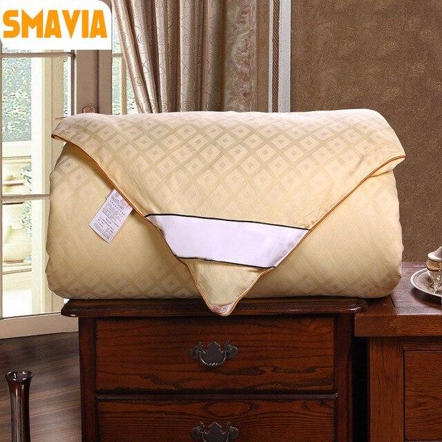 SMAVIA-Four-Seasons-Silk-Comforter-100-Mulberry-Silk-Filled-Quilt-100-Cotton-Grid-Cover-2-2.jpg_640x640