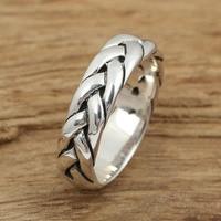Hand retro Thaise zilveren ring voorbereid echte 925 sterling zilver 925 sieraden voor mannen en vrouwen wedding ring sieraden G23