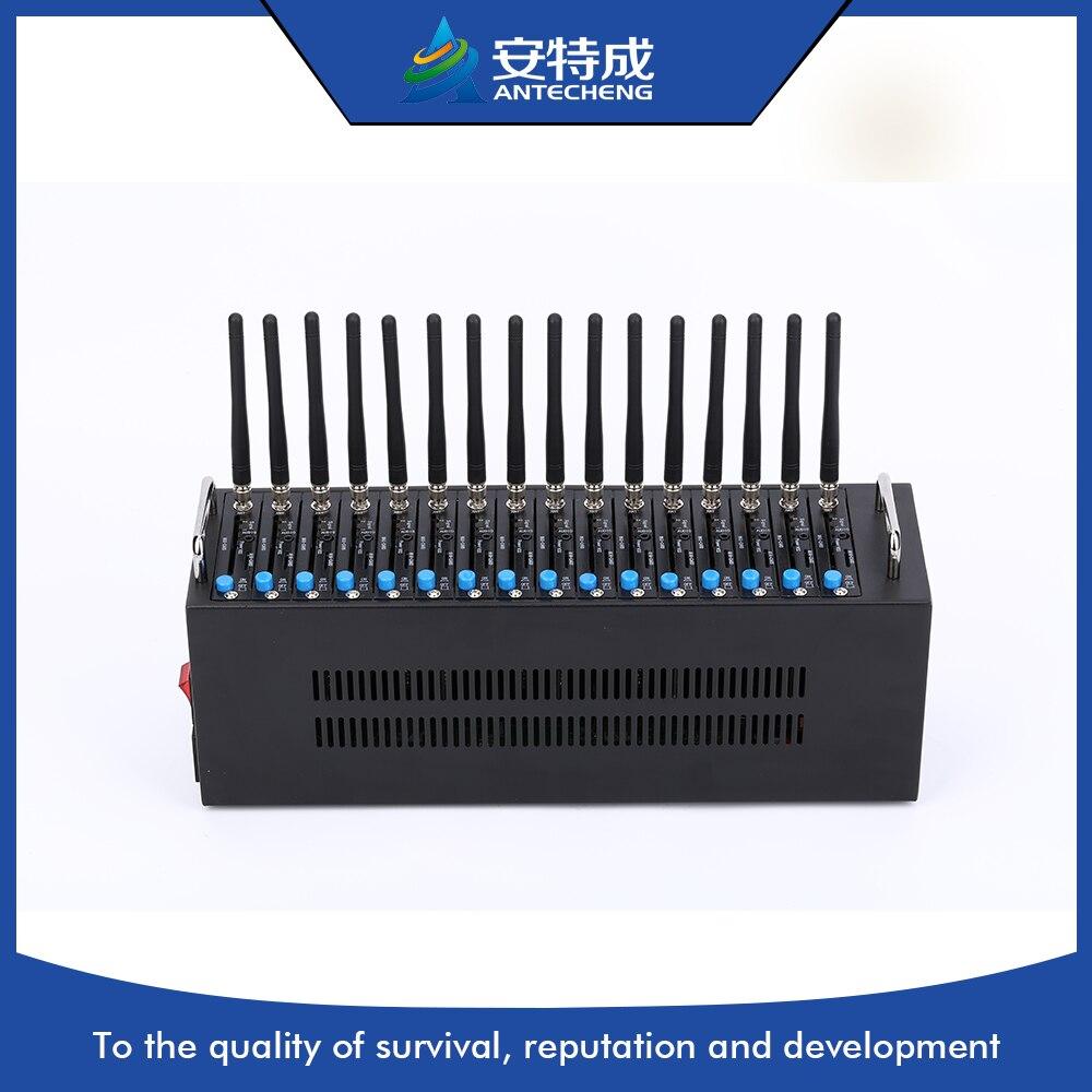 3g moem WCDMA sim5216 16 ports gsm modem piscine 3g SIMCOM 16 ports 3g modem pool