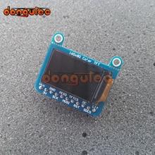 Dongutec 0.96 인치 tft 160x80 컬러 tft 디스플레이, microsd 홀더 브레이크 아웃 st7735