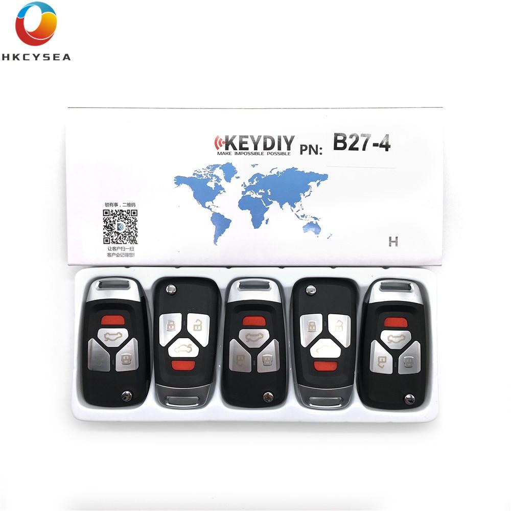 HKCYSEA 5pcs lot KEYDIY B Series Remote Control 3 1 Button B27 4 Key for KD900