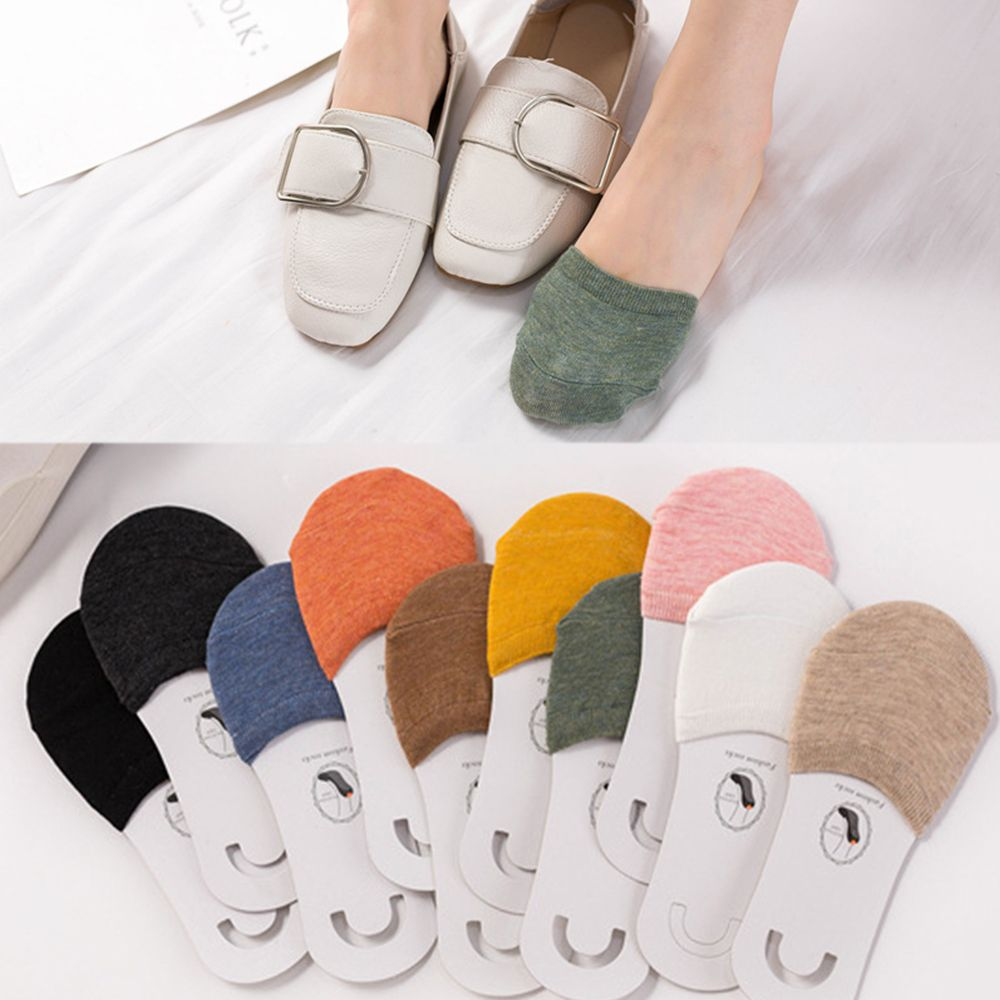 Women Invisible Toe Socks Made Of Cotton Material For Office Use And Daily Use 1