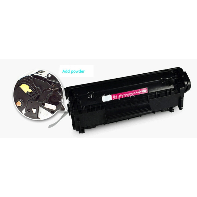 einkshop 2612A 12A Toner Cartridge For HP <font><b>LaserJet</b></font> <font><b>1010</b></font> <font><b>1012</b></font> <font><b>1015</b></font> <font><b>1018</b></font> <font><b>1020</b></font> <font><b>1022</b></font> 3010 3015 3020 3030 3050 3052 Printer Q2612A image